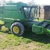 John Deere 9600 Header with 2 x Fronts - Machinery & Equipment
