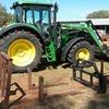 John Deere Tractor  6620SE with FEL - Machinery & Equipment