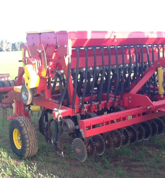 duncan mk3 renovator disc seeder with davimac small seeds