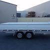 Flat top trailer