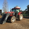 Case Puma 140 with Quicke FEL