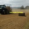 300/mt of Header Trail Barley Straw - 600+ KG Bales