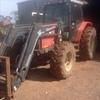 Massey Ferguson Tractor With FEL, Bucket & Fork.