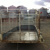 Tandem trailer with stockcrate