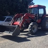 Case 695 XL Tractor with Burder Loader