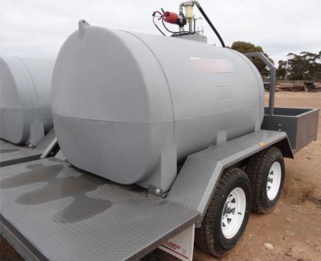 Farm Tractor Fuel Tanks : New top quality fuel trailers for sale australian farm