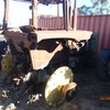 JD4450 Fire Damaged Tractor - Machinery & Equipment