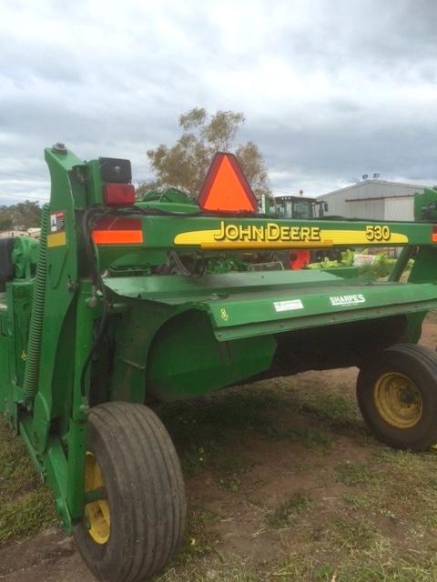 John Deere Tractor Air Conditioners : John deere moco mower conditioner  mdl