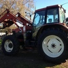 Tractor M100 new Holland 6cly cab 4wd Challenge loader