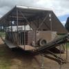 4 stand crutching trailer