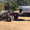 2008 Model 21 Ft RFM Airseeder and Bin For Sale