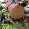 900 litre steel fuel tank with a 4 hp motor and pump on old tralier - Machinery & Equipment