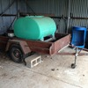 6 x 4 trailer with 400ltr fire fighter - Small Machinery