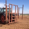 Large square bale forks for linkage of tractor - Machinery & Equipment