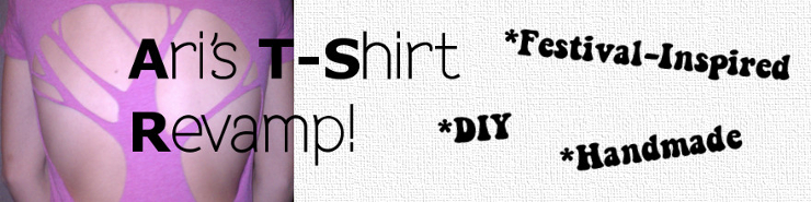 DIY T-Shirt Revamp tutorial