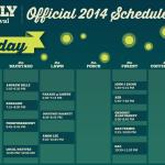 Firefly 2014 Schedule - Thursday