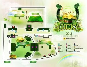 Lucky 2013 map