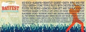 BayFest Music Festival 2014 Lineup