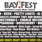 BayFest Music Festival 2012 Lineup