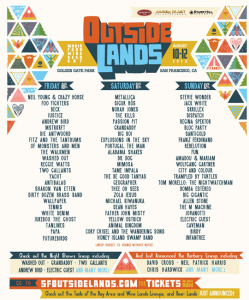 Outside Lands 2012 lineup