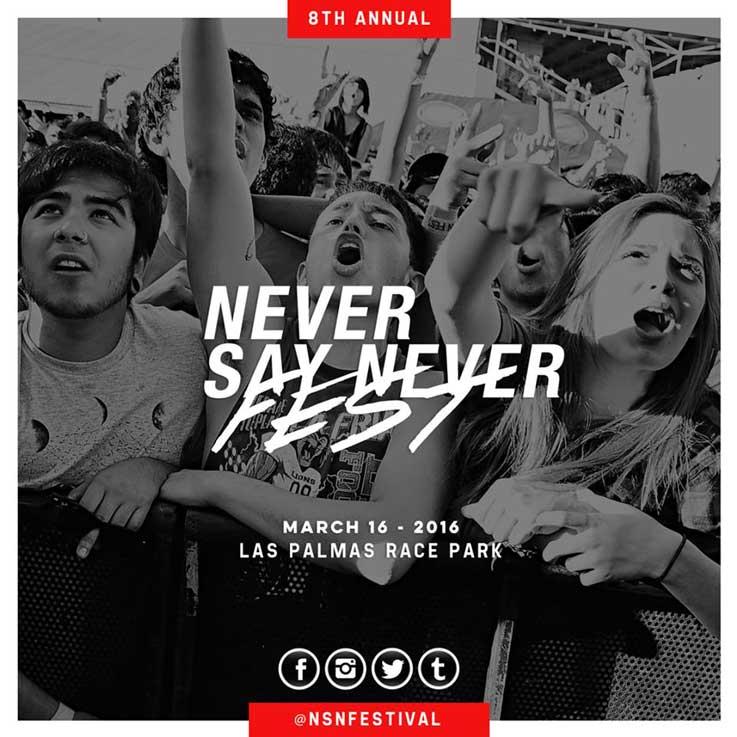 Never Say Never Festival 2016