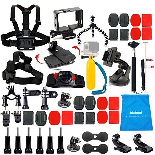 LifeLimit-HD-Cameras-Outdoor-Sports-Kit-for-Gopro-4-Hero-32HD-17-Items-0