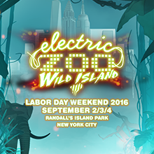 Electric Zoo - Wild Island 2016