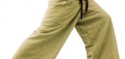 2-Tone-Thai-Fisherman-Pants-Yoga-Trousers-Free-Size-Cotton-0