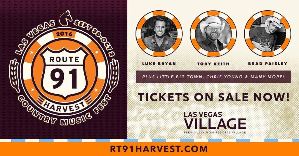 Route 91 Harvest Festival 2016