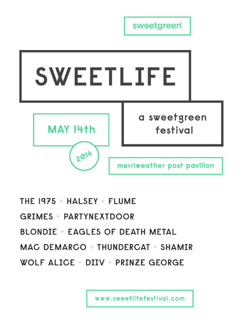 Sweetlife Festival 2016 Lineup
