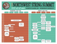 Northwest String Summit 2016 Schedule 1
