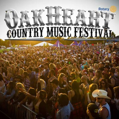 Oakheart Country Music Festival 2016