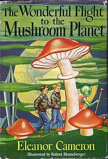 The Wonderful Flight to the Mushroom Planet Book Cover