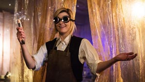 The 13th Doctor Builds her own Sonic. (c) BBC America 2018