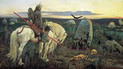 Crossroads by Viktor Vasnetsov. Image courtesy of Amazon