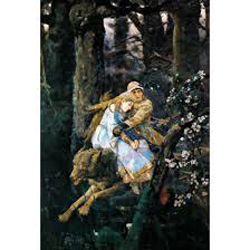 Prince Ivan on the Grey Wolf by Viktor Vasnetsov. Image courtesy of wikipictures
