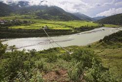 Punakha Suspension Bridge, image from Atlas Obscura