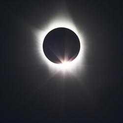Solar Eclipse. Photo by NASA.