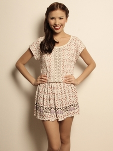 Secret Garden Floral Mini Dress