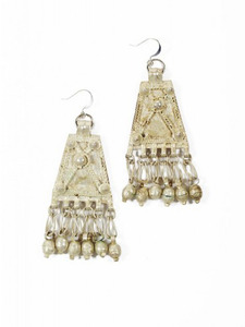 Desta: Antique Charm Earrings
