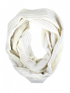 Mulu: Striped Infinity Scarf