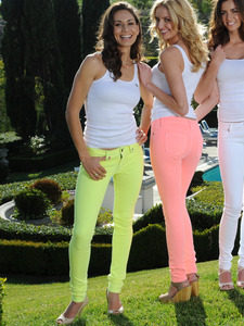 Skinny Neon Jeans 