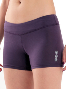 Women-shorts-purple