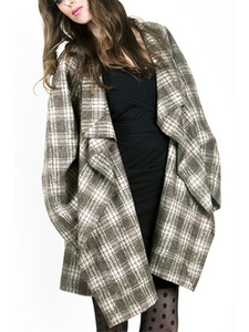 Plaid Coco Coat