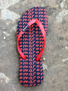 Red Flip Flops
