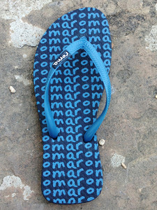 Blue Flip Flops