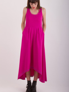 Pink Long Maxi Dress