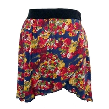 Flower Print Skirt