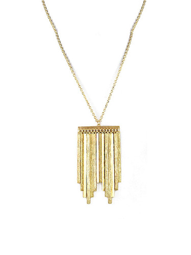 Hovey Lees latest collection of Ethical Recycled Jewelry gets down to Brass (and Silver) Tacks