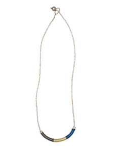 Alem: Fall Tube Necklace